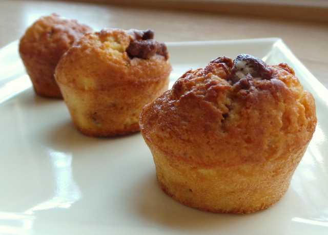 mini muffin pralinoise