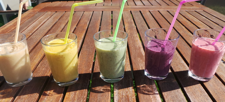 smoothie arc en ciel