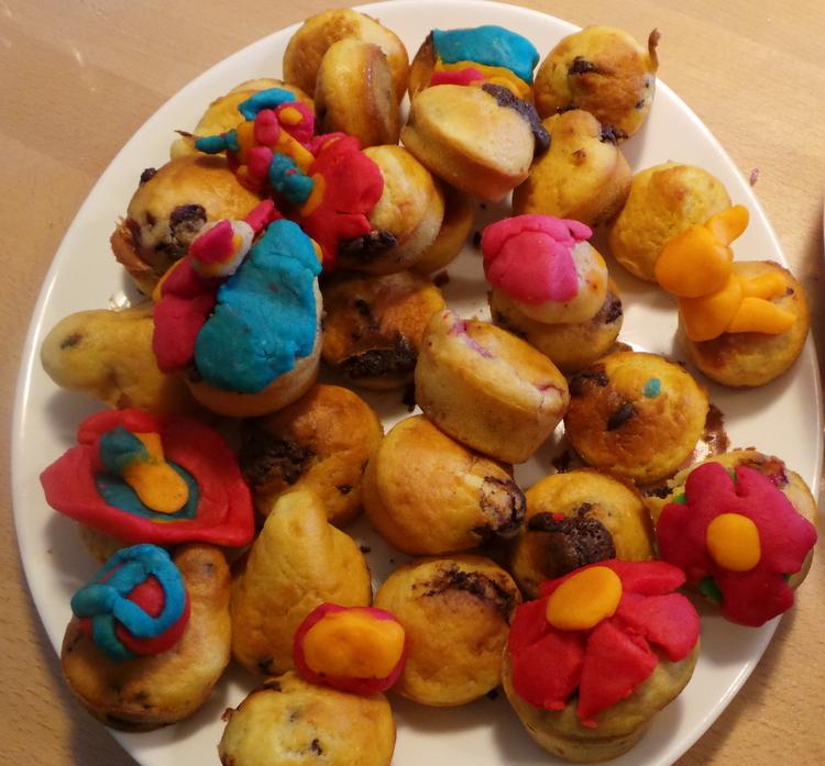 muffins décorés