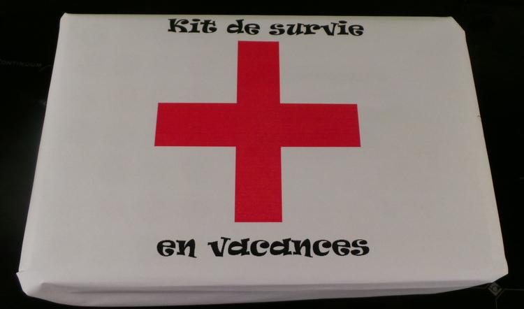 kit de survie en vacances
