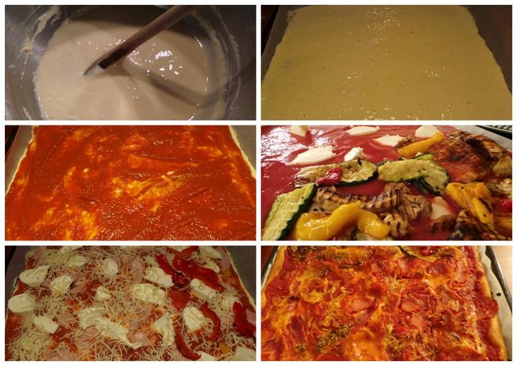 pizza pate liquide