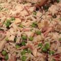 poulet riz petits pois