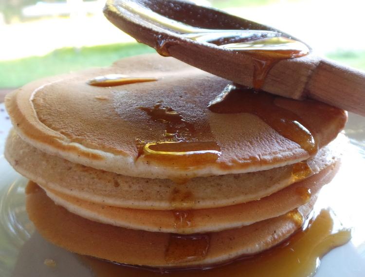 pancakes à la cannelle